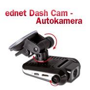(Deutsch) 4 Sterne für die ednet Dash Cam Autokamera