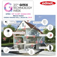 ednet. smart home at the GITEX 2016